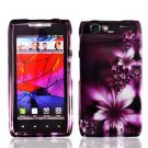 For Motorola Droid Razr Cover Hard Case L-Flower