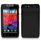 For Motorola Droid Razr Cover Hard Case Black