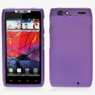 For Motorola Droid Razr Cover Hard Case Purple
