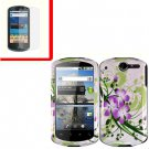 For Huawei Ideos X5 / impulse U8800 Cover Hard Phone Case G-Lily + Screen 2-in-1