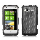 FOR HTC Radar Cover Hard Phone Case Carbon Fiber