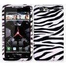 For Motorola Razr Cover Hard Case Zebra