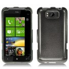 For HTC Titan Cover Hard Phone Case Carbon Fiber
