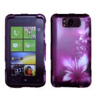 For HTC Titan Cover Hard Phone Case L-Flower