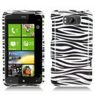 For HTC Titan Cover Hard Phone Case Zebra