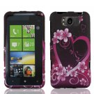 For HTC Titan Cover Hard Phone Case Love