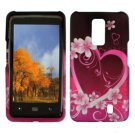 For Verizon LG Spectrum 4G Cover Hard Case Love