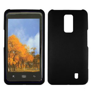 For Verizon LG Spectrum 4G Cover Hard Case Black