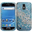For Samsung Galaxy S II X Cover Hard Phone Case Crystal Bling Blue Water Drop