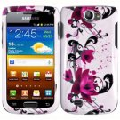 For Samsung Exhibit II 4G T679 Cover Hard Case W-Flower