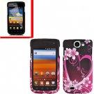 For Samsung Galaxy W Cover Hard Case Love +Screen Protector