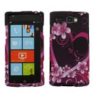For Samsung Omnia W Cover Hard Case Love