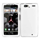 For Motorola Droid Razr Maxx Cover Hard Case White