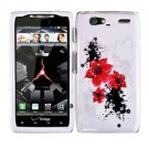 For Motorola Droid Razr Maxx Cover Hard Case R-Lily