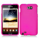For Samsung Galaxy Note Cover Hard H-Pink Case