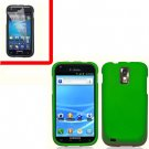 For AT&T Samsung Galaxy S II SGH-T989 Cover Hard Case Green +Screen