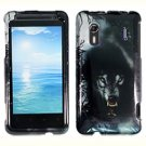 For HTC Hero S Cover Hard Phone Case Wolf