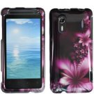 For HTC Hero S Cover Hard Phone Case L-Flower