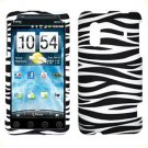 For HTC Hero S Cover Hard Phone Case Zebra