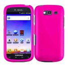 For Samsung Galaxy S Blaze 4G Cover Hard Case H-Pink +Screen 2 in1