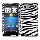 For HTC Vivid / Raider LTE 4G Cover Hard Phone Case Zebra