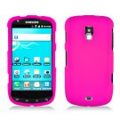 For Samsung Galaxy S Aviator Car Charger +Hard Case Hot Pink Cover 3-in-1