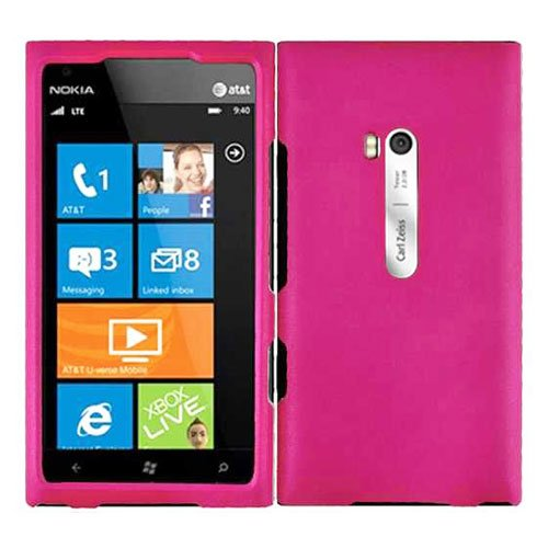 For Nokia Lumia 900 Hard Case H-Pink Cover