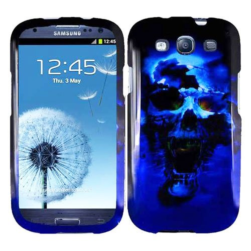 Phone Case For Samsung Galaxy S III B-Skull Hard Cover