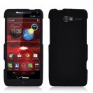 For Motorola Razr M Phone Case Black Hard Cover +Screen Protector XT907