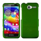 For Motorola Electrify M Phone Case Green Hard Cover +Screen Protector XT901