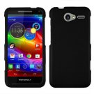 Phone Case Black For Motorola Electrify M Hard Cover +Screen Protector XT901
