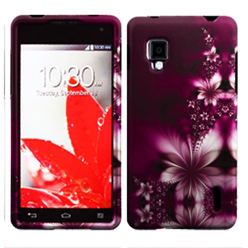 Phone Case For LG Optimus G L-Flower Hard Cover ( E971 / E973 / E975 )