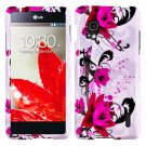 Phone Case For LG Optimus G W-Flower Hard Cover ( E971 / E973 / E975 )