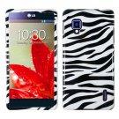 Phone Case For LG Optimus G Zebra Hard Cover ( E971 / E973 / E975 )