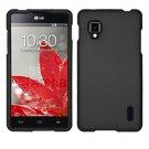 Phone Case For LG Optimus G Black Hard Cover ( Sprint / LS970 )