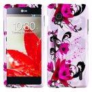 Phone Case For Sprint LG Optimus G W-Flower Hard Cover ( Sprint / LS970 )