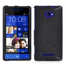 Phone Case For HTC Window Phone 8X 4G LTE Hard Case Carbon Fiber Phone Cover