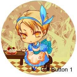 CTBK: Alice in Wonderland Paro Card + Buttons Set