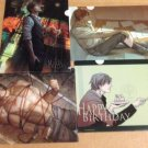 Set of 4 A5 Clearfiles