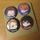 Set of 4 Q Buttons: Version A