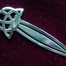 Celtic Triquetra Trinity Knot Bookmark