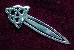 Celtic Triquetra Trinity Knot Bookmark