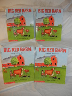 4 copies BIG RED BARN - GUIDED READING SETS
