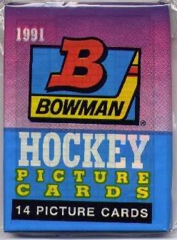 1991 Bowman Hockey Cards Pack (CK0025)