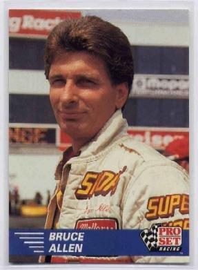 1991 Pro Set NHRA Bruce Allen Racing Card #41 (CK0075)