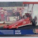 1991 Pro Set NHRA Gene Snow Racing Card #54 (CK0075)