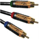 FORZA-700 SERIES 40716 700 SERIES COMPONENT VIDEO CABLES (2 M)