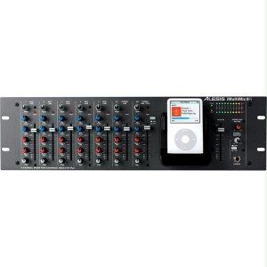 Alesis Rack-Mountable Audio Mixer with iPod Dock