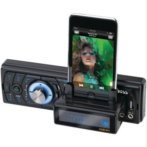 BOSS Audio 754 DI MP3 Receiver with iPod Slide out