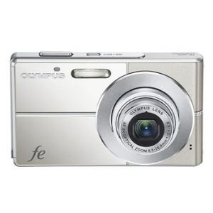 Olympus Fe-3010 12mp Digital Camera With 3x Optical Zoom And 2.7 Inch Lcd (titanium)